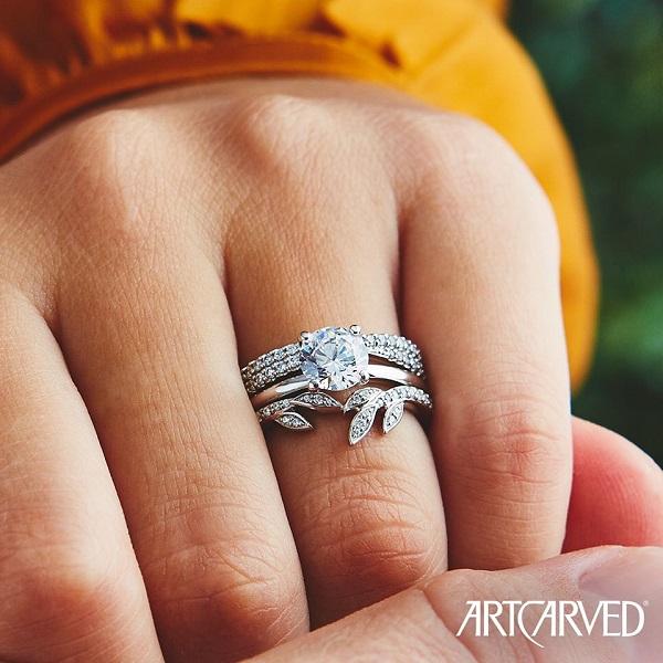Diamond Engagement Rings for Men Women